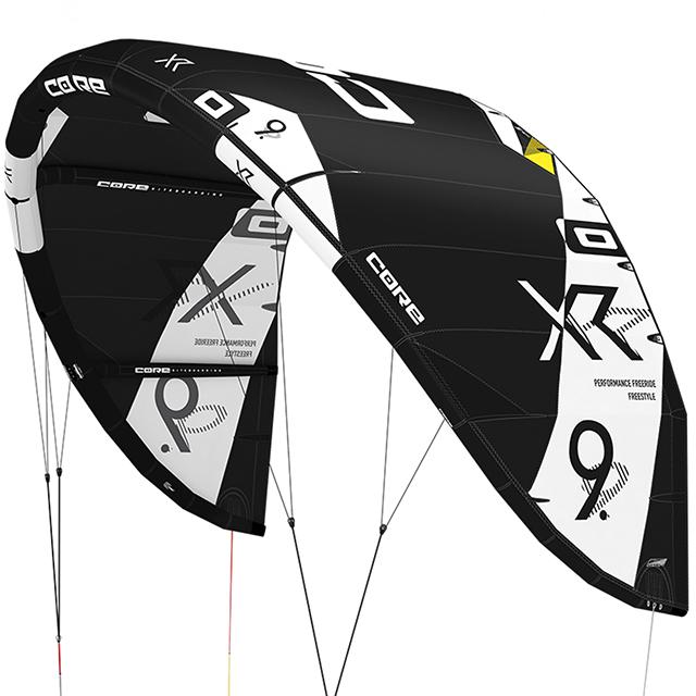 Aile de kitesurf CORE XR5 en test kiteshop.fr