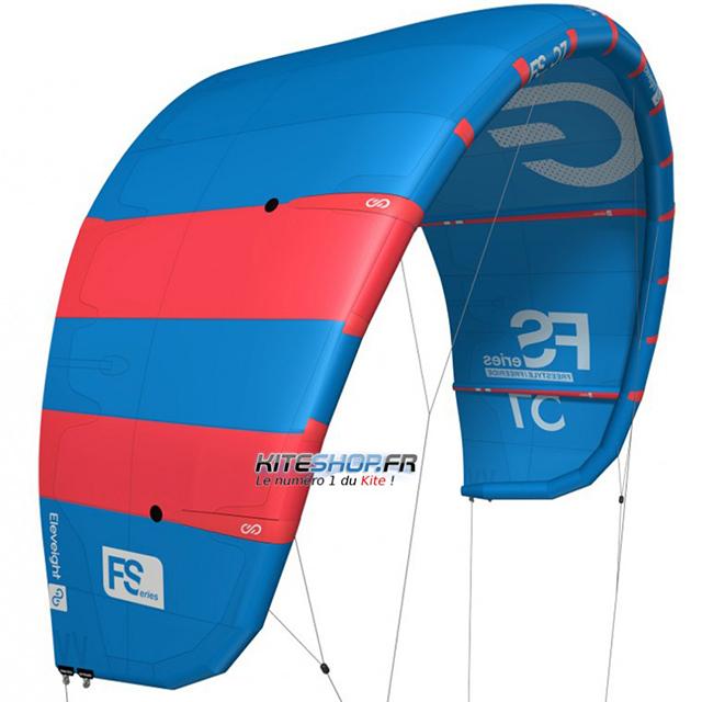 Aile de kitesurf ELeveight FS 2018 en test