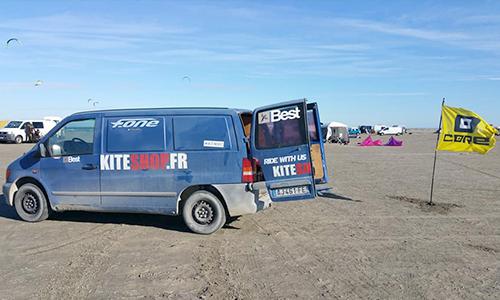 test gratuits sur la plage kiteshop.fr