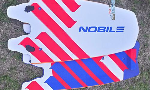 planche de kitesurf pliable pour voayager.