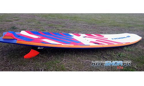 test de la planche nobile split foil board 2018